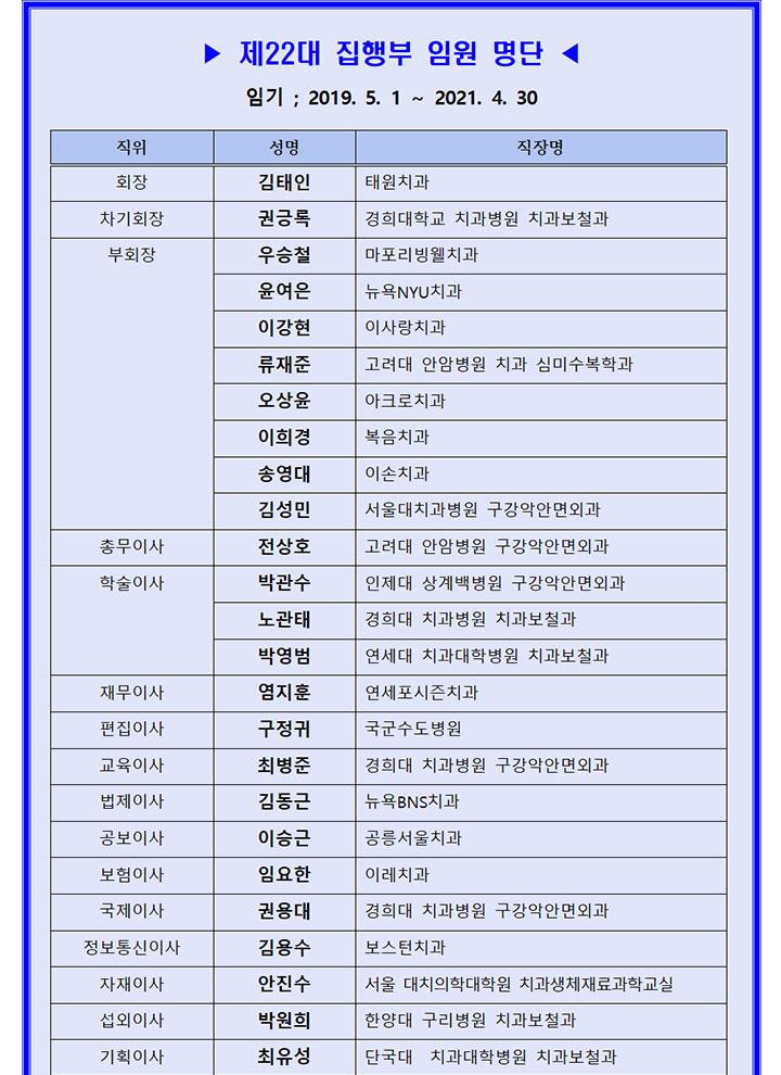 [대한치과이식임플란트학회] 2019년 2호 뉴스레터 (통권23호)